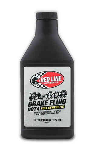 RL-600 DOT4 Bremsflüssigkeit Full Synthetic Brake Fluid 473 ml